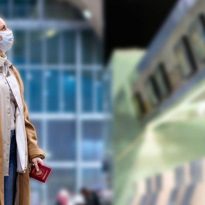 Entrepreneur Aligned Woman in Airport